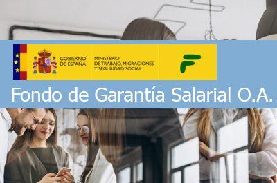 FOGASA el Fondo de Garantía Salarial
