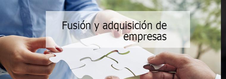 Fusión y adquisición de empresas
