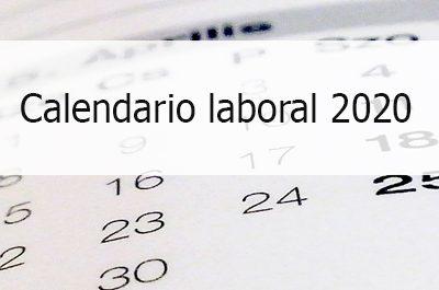 Calendario Laboral 2020